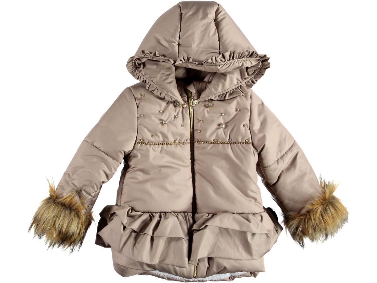 Куртка 2/5 лет бежевого цвета 314046